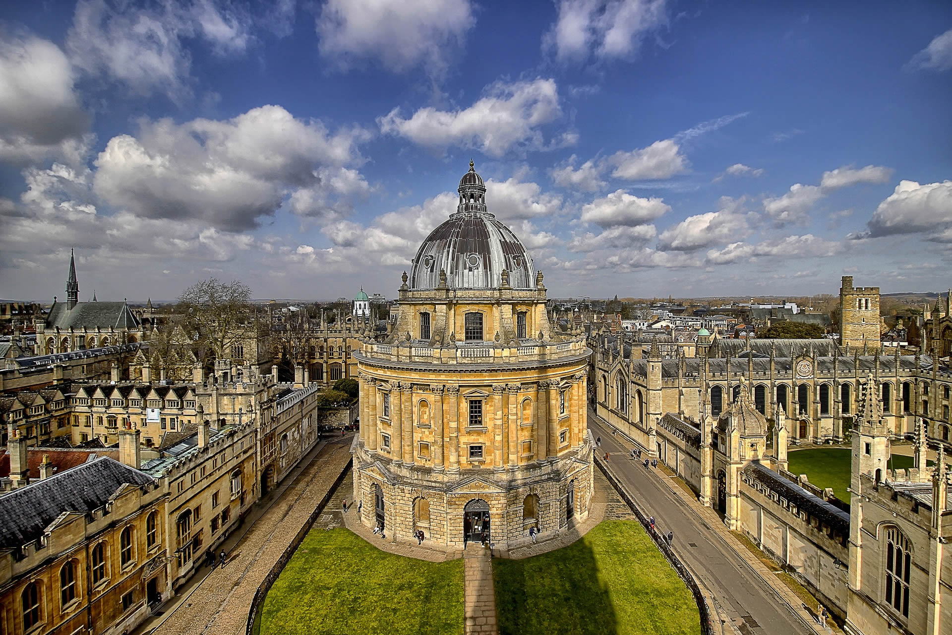 Radcliffe Library, Oxford University by Alfonso Cerezo