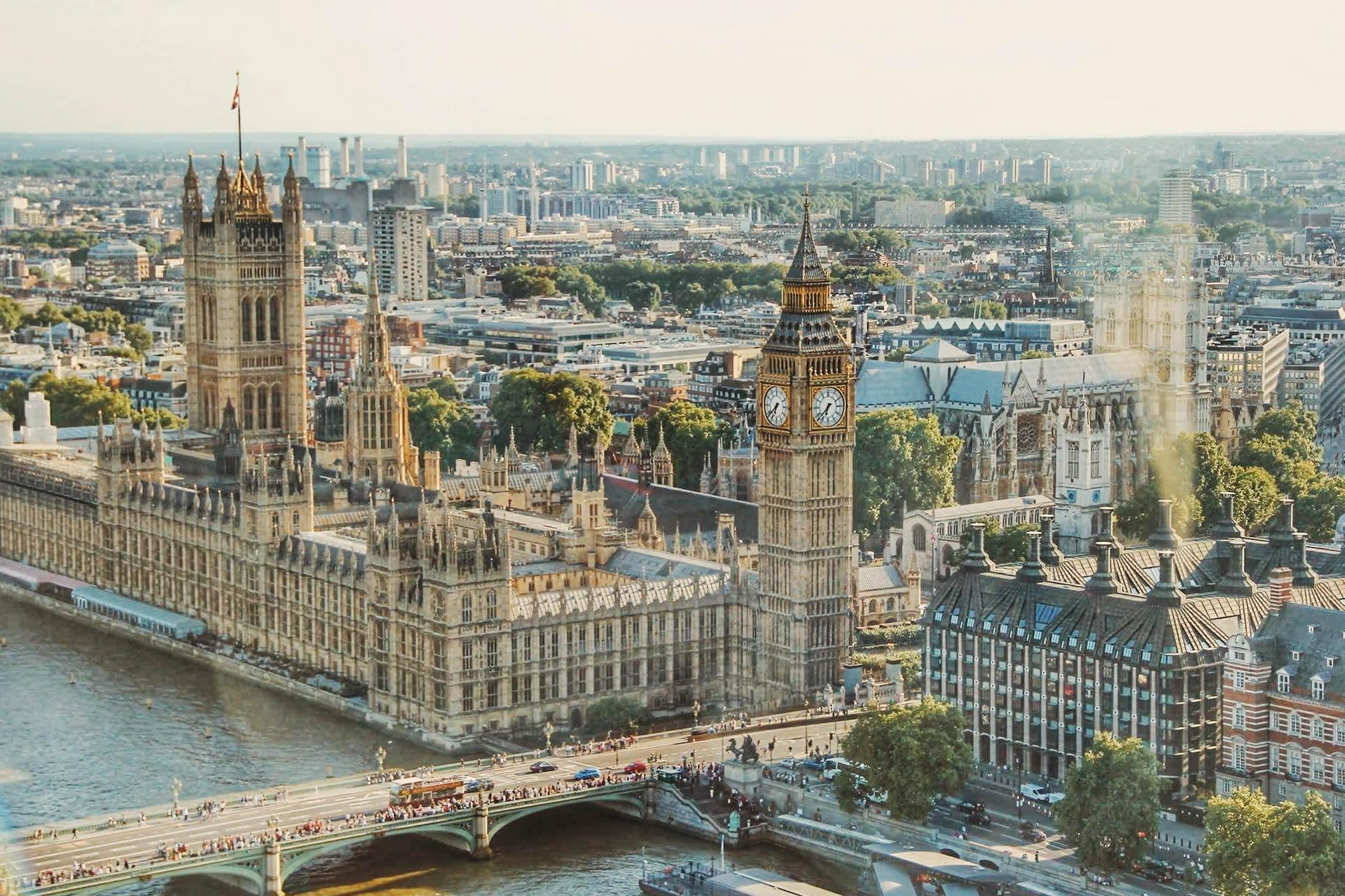 Westminster Houses of Parliament by Dominika Gregušová